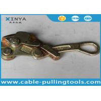 Buy cheap Light Weight 2 Ton Come Along Clamp Wire Rope Grips for 4-22 mm Conductor from wholesalers