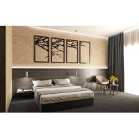 Buy cheap Cheap Apartment Wooden Hotel Guest Room Furniture With MDF Panel from wholesalers