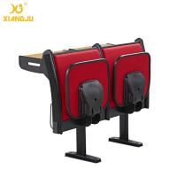Buy cheap Upholstery Fabric University Steel Book Holder College Classroom Seating With Writing Desk from wholesalers