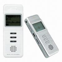 Buy cheap Long Time Voice Recorder with 180 Hours Recording Time from wholesalers