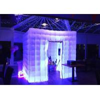Buy cheap Romantic Inflatable Photo Booth LED Light 2.4m Color Changed With Blower from Wholesalers