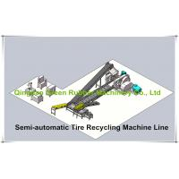 Buy cheap Waste Tyre Recycling Plant to Rubber Powder Machine from wholesalers