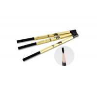 Buy cheap Hot Sale Cosmetic Eyebrow Pencil For tattoo design Waterproof Permanent Makeup Eyebrow Pencil Wooden Handle Eyebrow from wholesalers
