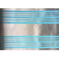Buy cheap Woven Blue Jacquard Damask Fabric Striped Jacquard Bed Linen product