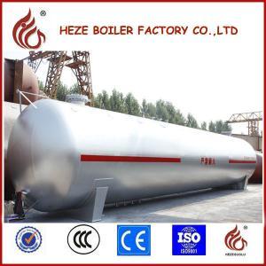 China Nigeria Used 60M3 LPG Tank Ground Liquid Gas Tank for Filling Station on sale