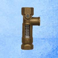 Buy cheap High Accurate Brass Mechanical Flow Meter Direct Reading For Balancing Valve from wholesalers