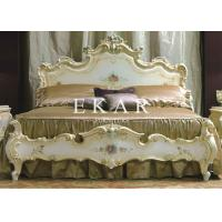 Buy cheap Roman style furniture italian bed classic bedroom sets LS-A124A from wholesalers