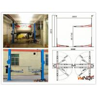 China High Stability Hydraulic 2 Post Car Lift With Adjustable Beam on sale