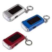 Buy cheap LED Solar Flashlight Keychain, Super Solar Panel, Bright Light from wholesalers