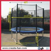 Buy cheap 8ft big trampoline from wholesalers