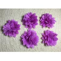 Buy cheap 2 Small Pretty Daisy Handmade Fabric Flower Brooch Artificial Flower Flower Corsage Back Without Pin from wholesalers