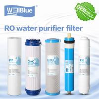 Buy cheap Granular Active Carbon RO Water Filter Replacement 100% Polypropylene 10 Inch from wholesalers