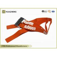 Buy cheap Nylon Webbing Straps For Cargo Binding , Personalised Luggage Straps from wholesalers
