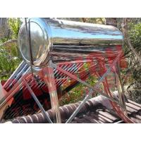 Buy cheap Closed Loop Solar Water Heater Heat Pipe , Thermal Hot Water Heater 200 Liter from wholesalers