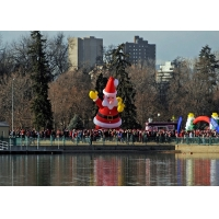 Buy cheap High Quality Giant Inflatable Santa Claus 10M High Christmas Decorations for Big Promotions or Advertising Decorations from wholesalers