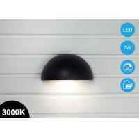 Buy cheap Waterproof 7W Outdoor Arc LED Garden Wall Pack Light Plus Sockets 370lm 3000K CE RoHs from wholesalers
