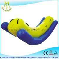 Buy cheap Hansel Hot sell inflatable water totter,inflatable totter water toy from wholesalers