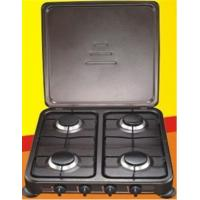 Buy cheap Portable Stainless Steel Gas Stoves With 4 Burner , Euro Gas Cooktop TL-602 from wholesalers