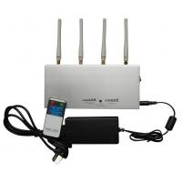 Buy cheap 2G / 3G Cell Phone Signal Jammer For schools With Remote Control from wholesalers