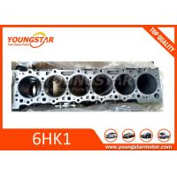 Buy cheap ISUZU 6HK1 6HK1T Auto Cylinder Block For Truck Engine 8-97600119-0 product