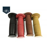 Buy cheap Rubber 22mm Handgrips Motorcycle Replacement Parts Red Color For Chooper Bike from wholesalers