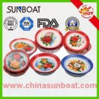 Buy cheap good quality chinese traditional cast iron flowered wedding enamel basin product