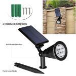 Buy cheap 5V 2W Solar Powered Outdoor Motion Sensor Led LightEasy Installation For Docks from wholesalers