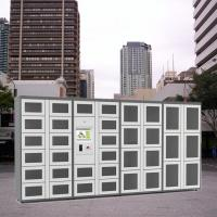 Buy cheap Remote Control Combo Vending Machines Outdoor Locker Systems With LED Lights product