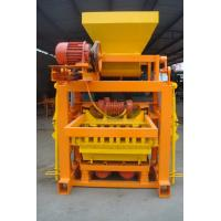Buy cheap Portable Small Concrete Block Machine , Full Automatic Fly Ash Brick Making Machine from wholesalers