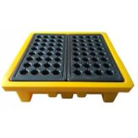 Buy cheap Leak Proof 4 Drum Spill Containment Pallet Spill Platform For Drum Storage from wholesalers