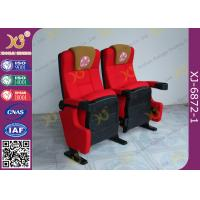 Buy cheap Push Back Function Folding Theater Chairs Removable Legs Movie Seating For Auditorium from wholesalers