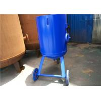 Buy cheap Open Mobile Derusting Sand Blasting Machine 400mm Diameter 0.8MPA Pressure product