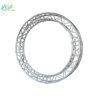 Buy cheap Circle Roof Box Led Stage Lighting 0.5m Aluminum Spigot Truss from wholesalers