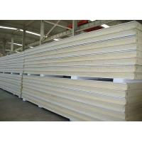 Buy cheap Heat Insulation Pu Polyurethane Sandwich Panels Anti Noise For Prefab Building from wholesalers