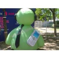 Buy cheap Cute Blow Up Robot Inflatable Cartoon Characters For Advertising Services from wholesalers