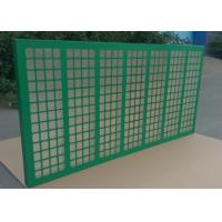 Buy cheap Green Metal Frame Shaker Screen API 200 Used On Shale Shaker 585x1165mm from wholesalers