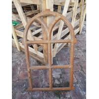 Buy cheap Antique European Furnature Cast Iron Windows Frame For Home Decorationl from wholesalers
