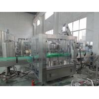 Buy cheap 3000 BPH Water Glass Bottle Filling Machine With Twist off Cap , Hot Filling Machine from wholesalers