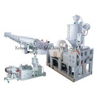 Buy cheap made in China PE water pipe fabrication machine extrusion line production line for sale from wholesalers