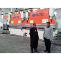 Buy cheap CNC Tandem Press Brake Machine 320 Ton 6 M Two Press Cnc Bending Machine from wholesalers