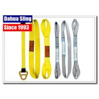 Buy cheap Customized Logo Harga Webbing Sling , Hoist Lifting Straps Acid Resistance from wholesalers