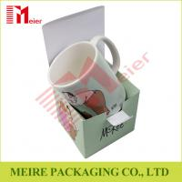 Buy cheap Light weight and cheap price Cute printing paper mache boxes for mug packaging from wholesalers
