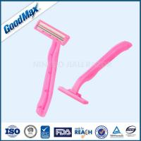 Buy cheap Pink Single Blade Disposable Razor With Fixed Head For Safer Shaving from wholesalers