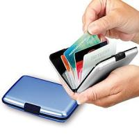 Buy cheap Indestructable Aluminum Wallet Credit Card Holder from wholesalers