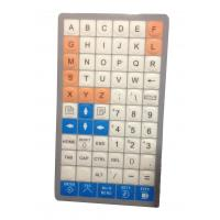 Buy cheap Special customs membrane keyboard with flat keys, customized layout supplier from China product