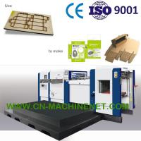 Buy cheap Carton box making machine manufacturer,die cutting hot stamping creasing stripping,high precision,durable from wholesalers