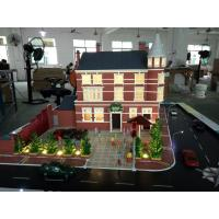 China Resort Hotel Miniature Architectural Models , 3d Table Display Maquette Mockup on sale