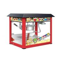 Buy cheap Painting Iron Countertop Popcorn Machine With Organical Glass For Snack Shop from wholesalers