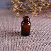 Buy cheap Old Brockway Glass amber medicine bottle Brown 2 OZ silk screen printing from wholesalers