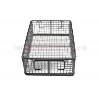 Buy cheap Ultrasonic Cleaning Stainless Steel Wire Baskets Storage Vegetable Washing from wholesalers